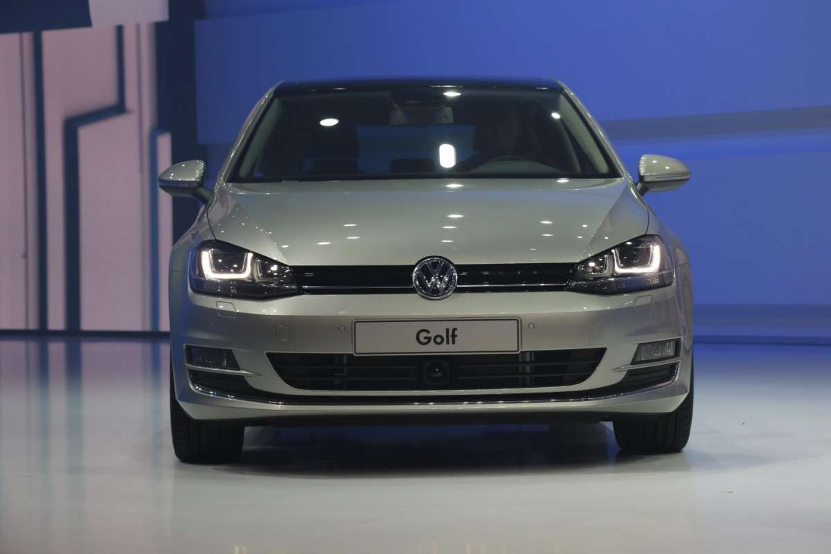 Volkswagen Golf Bluemotion, Salone di Parigi 2012 (2)