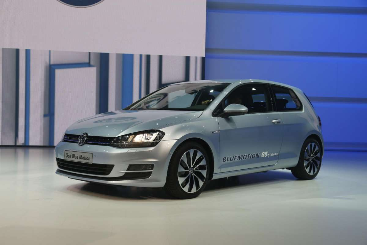 Volkswagen Golf Bluemotion, Salone di Parigi 2012
