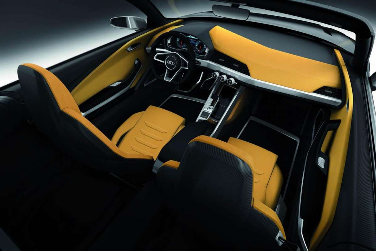 Audi Crosslane Coupe Concept interni