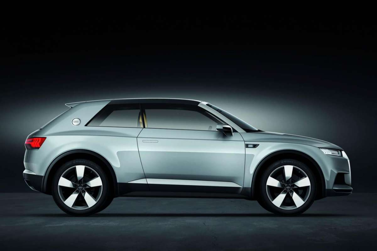 Audi Crosslane Coupe Concept laterale