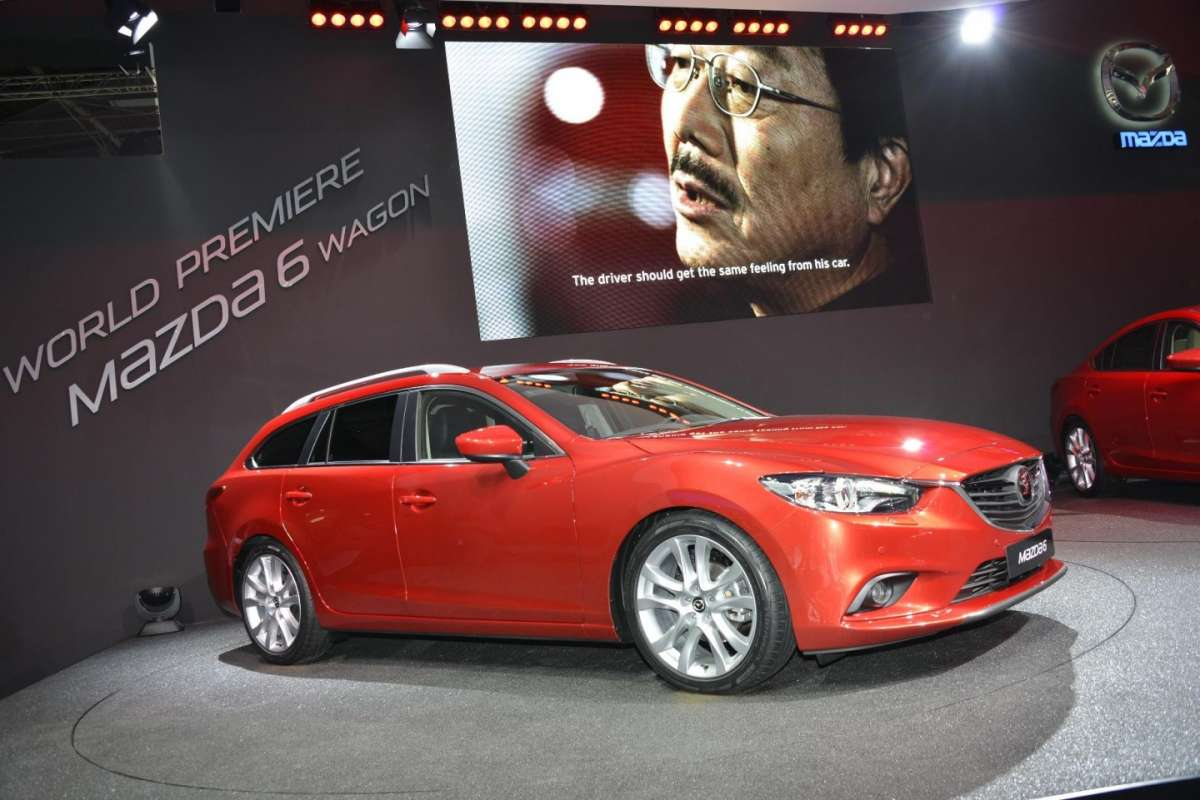 Mazda 6 station wagon, Salone di Parigi 2012 (2)