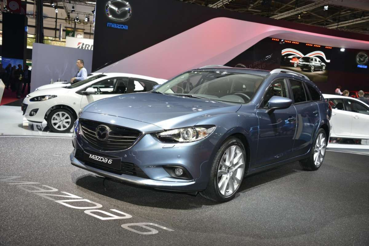 Mazda 6 station wagon, Salone di Parigi 2012 (3)