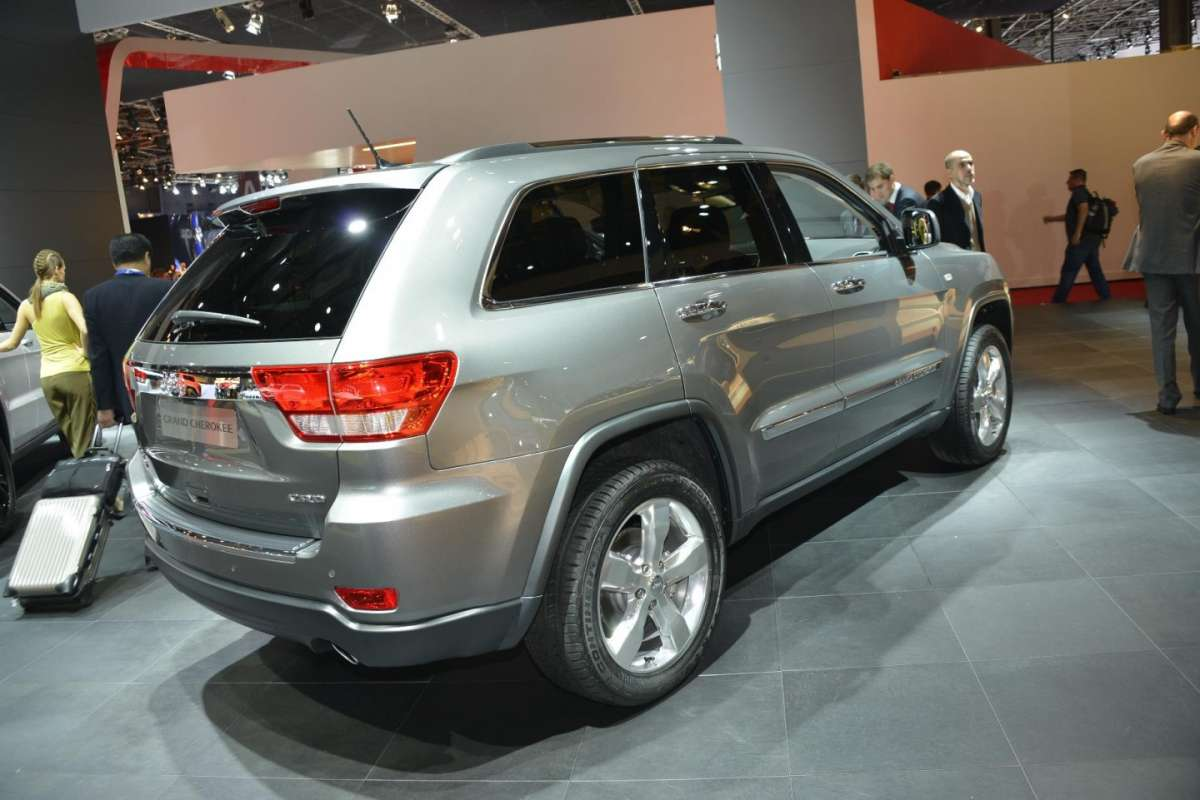 Jeep Grand Cherokee Crd, Salone di Parigi 2012