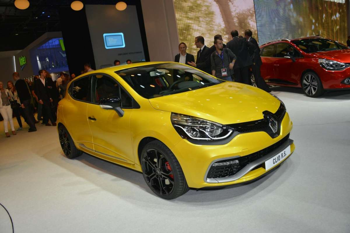 Renault Clio RS 200 Turbo al Salone di Parigi