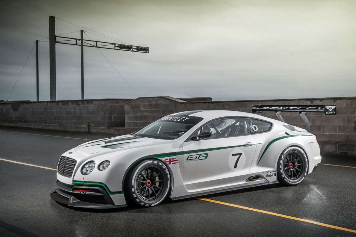 Bentley Continental GT3 Concept - fiancata