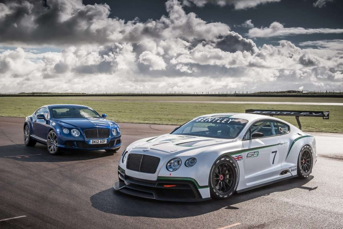 Bentley Continental GT3 Concept - frontale (2)