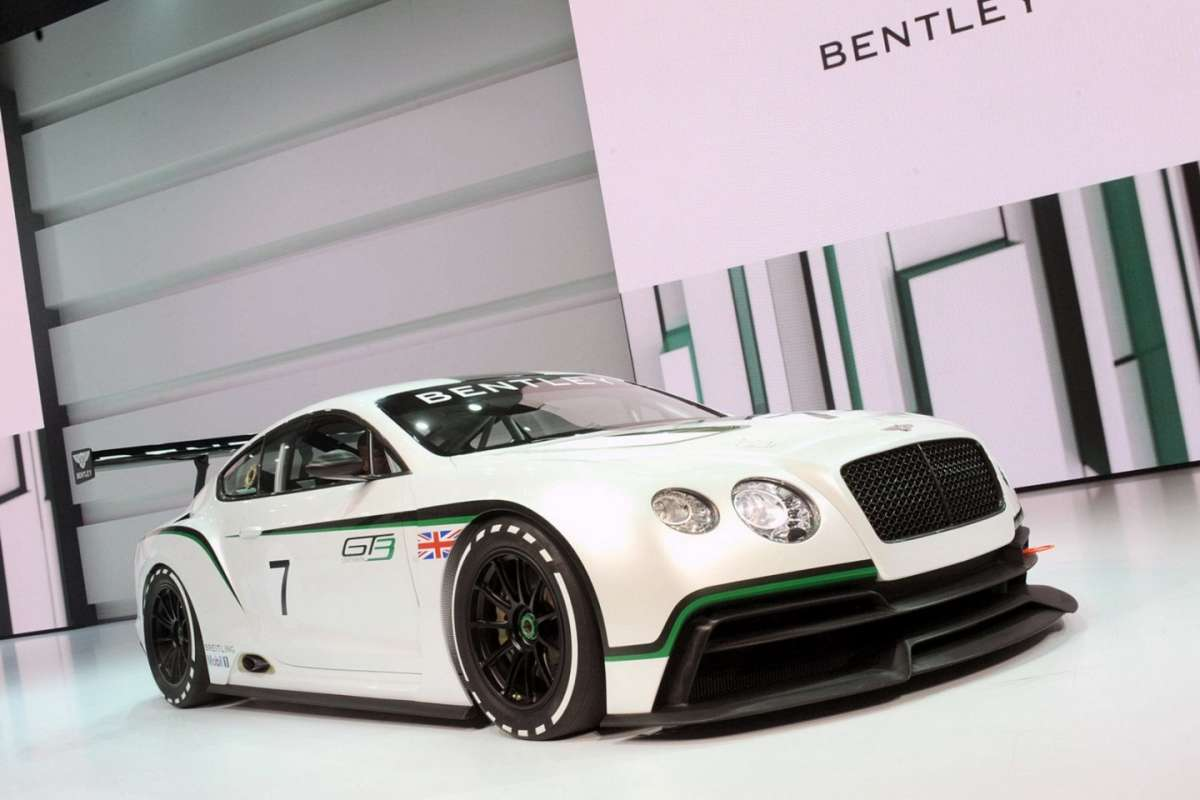 Bentley Continental GT3 Concept - laterale anteriore