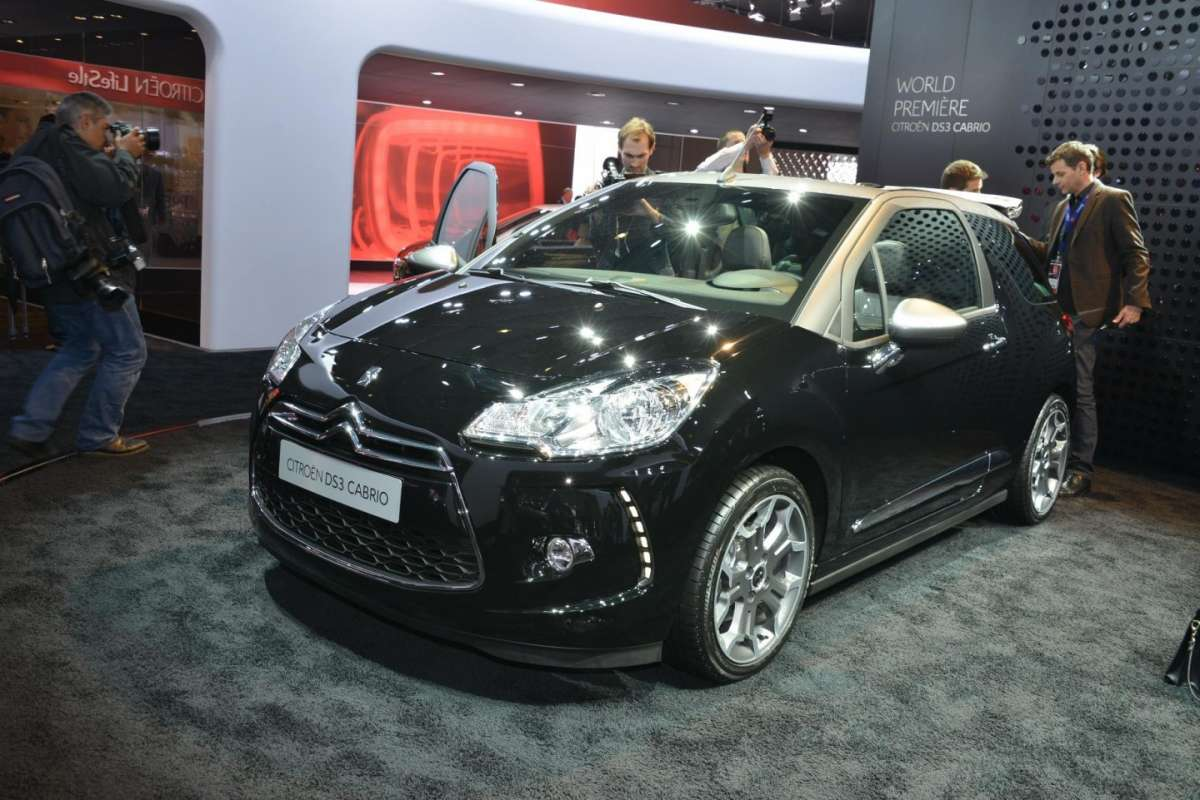 Citroen DS3 Cabrio, Salone di Parigi 2012 (3)