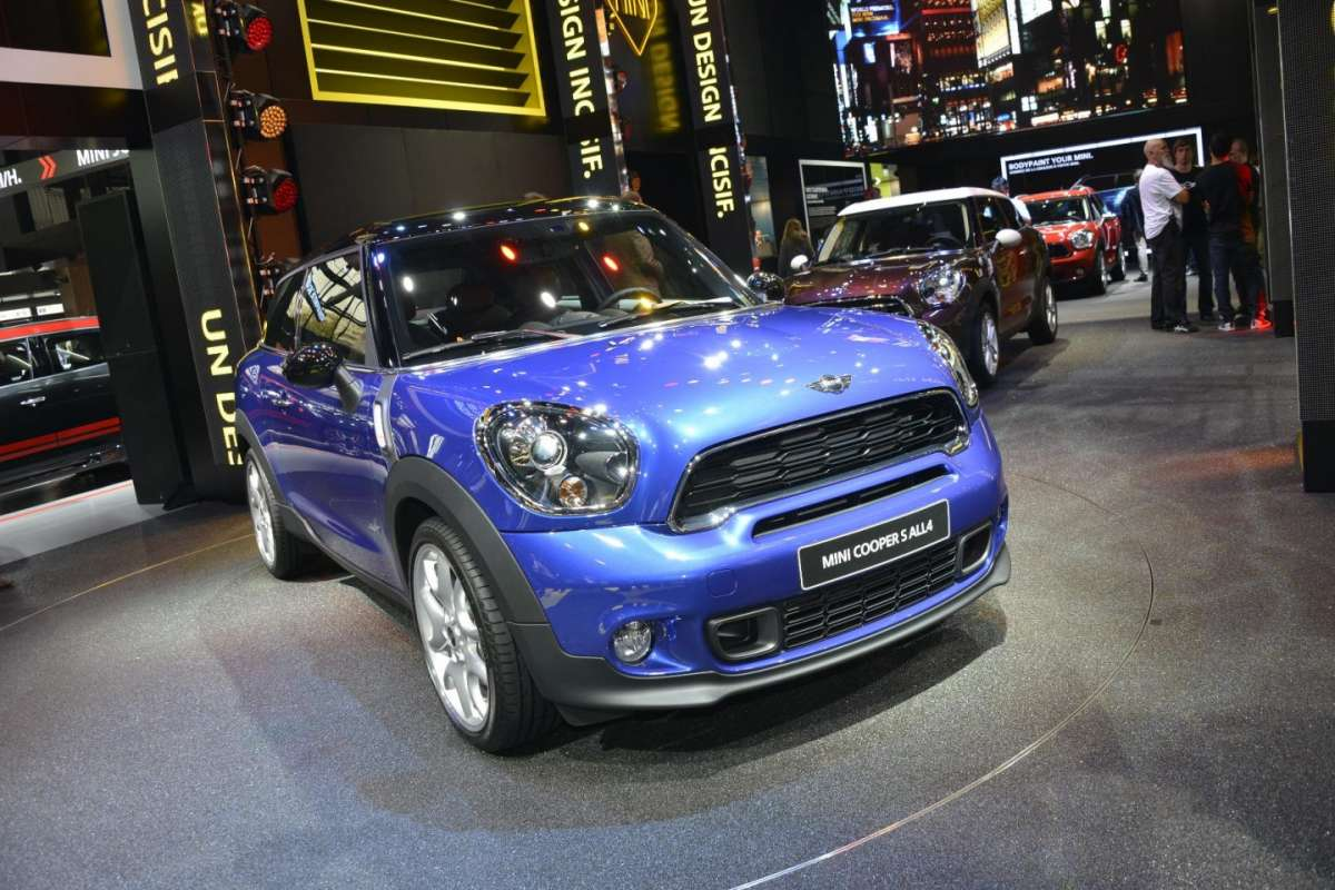 Mini Cooper S All4, Salone di Parigi 2012 (2)