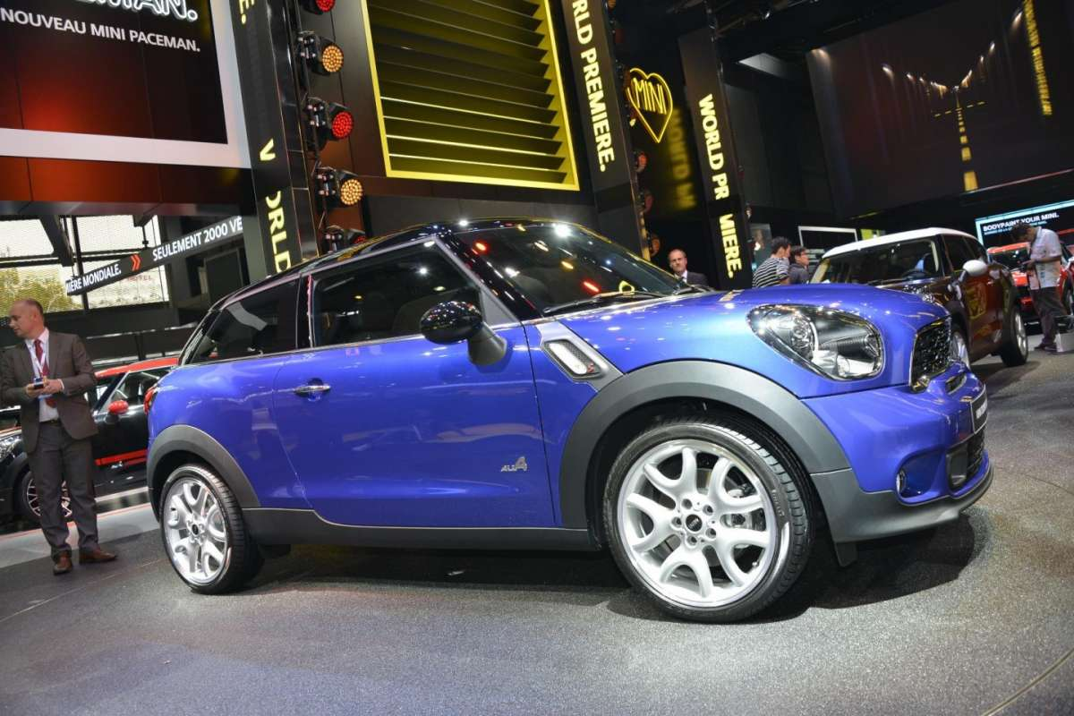 Mini Cooper S All4, Salone di Parigi 2012