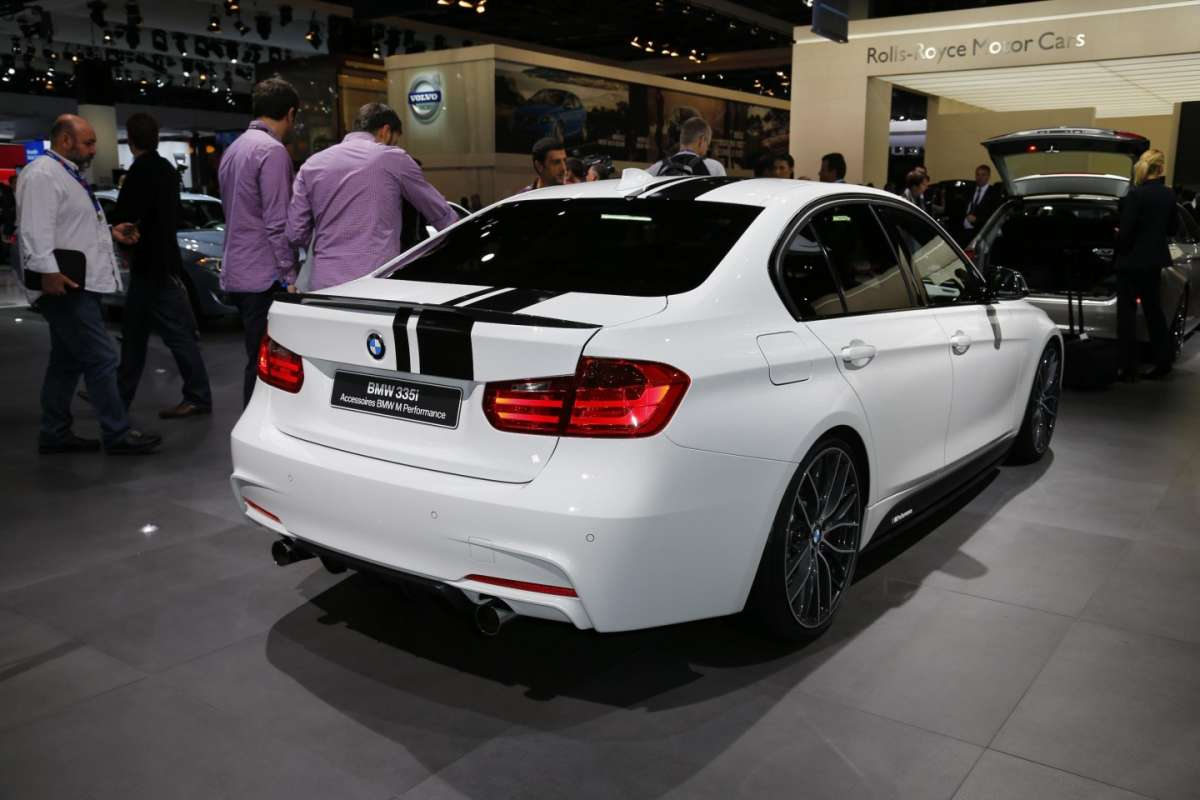 Bmw 335 M Performance, Salone di Parigi 2012 (4)
