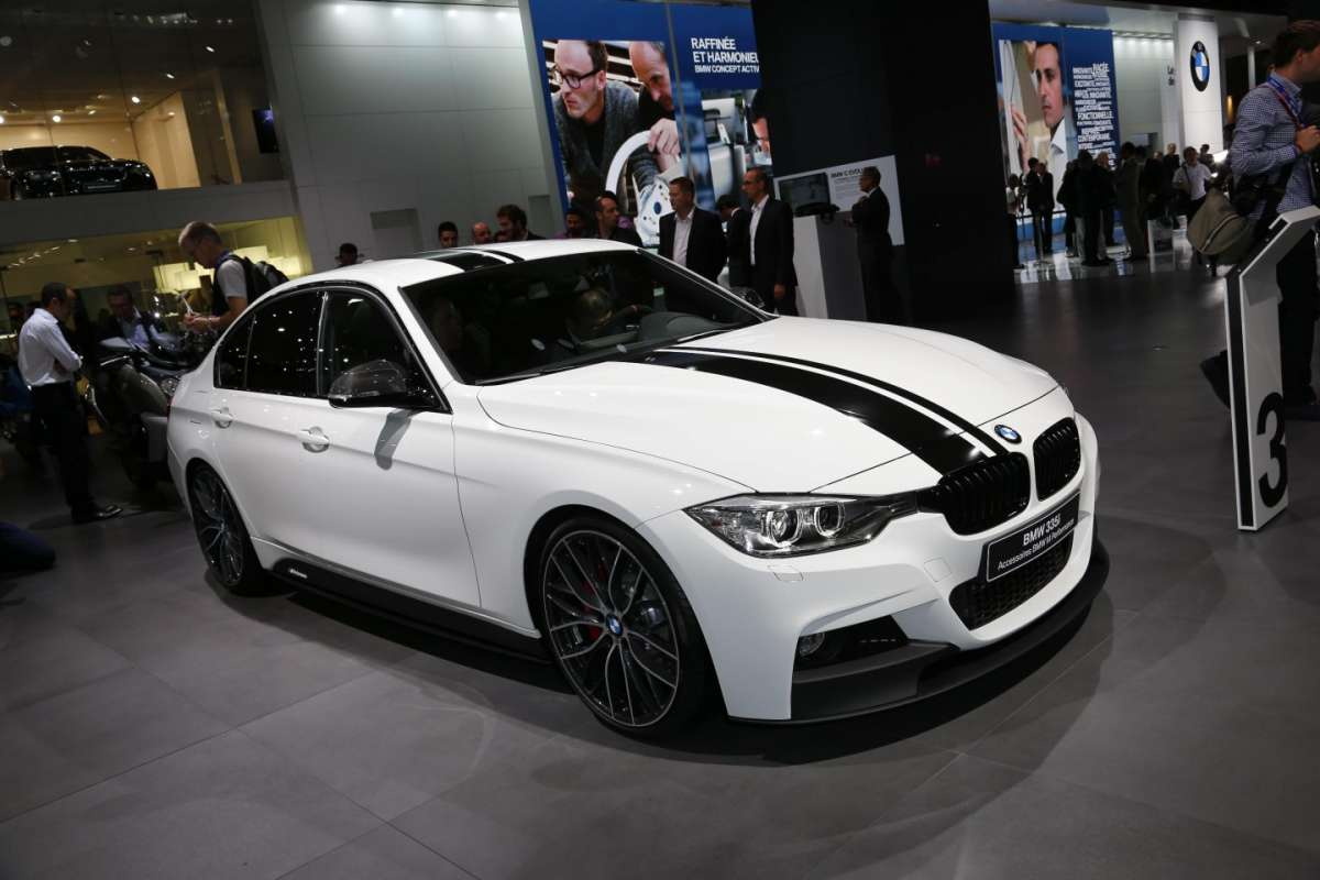 Bmw 335 M Performance, Salone di Parigi 2012
