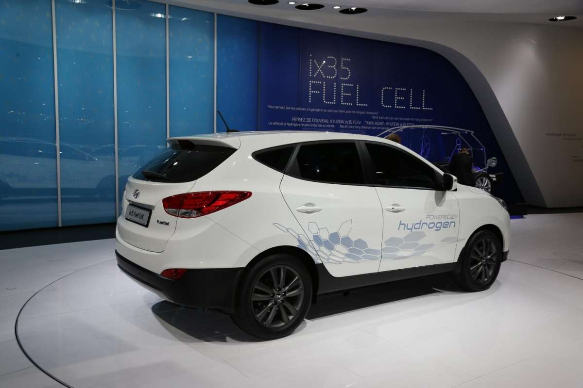 Hyundai ix35 fuel cell, Salone di Parigi 2012