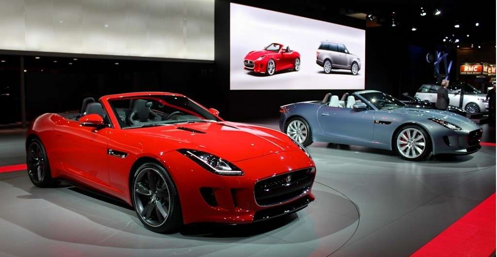 Jaguar F-Type 2013 al Salone di Parigi 2012