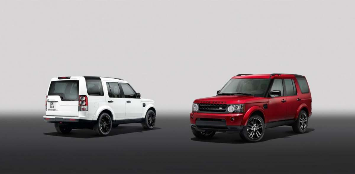 Land Rover Discovery 4 2013, Black Design