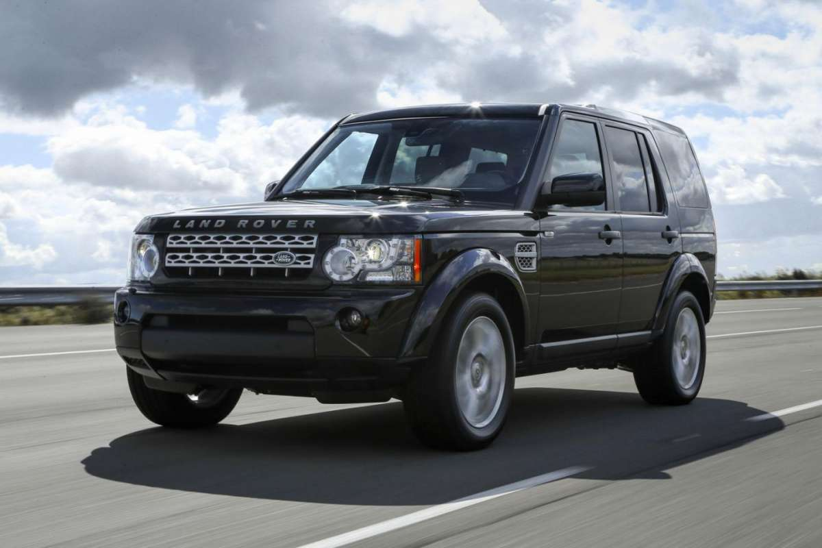 Land Rover Discovery 4 2013, frontale