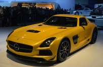 Mercedes SLS AMG Black Series al Salone di Los Angeles 2012