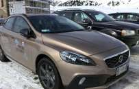 Volvo V40 Cross Country: prova su strada e su neve [FOTO e VIDEO]