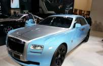 Rolls-Royce Ghost Alpine Trial Centenary Collection: al Salone di Shanghai 2013 [FOTO]