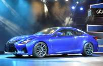 Lexus RC F Coupé al Salone di Detroit 2014