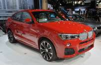BMW X4 al Salone di New York 2014