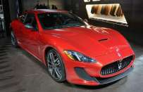 Maserati GranTurismo MC Centennial Edition al Salone di New York 2014