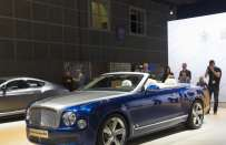 Bentley Grand Convertible concept, al Salone di Los Angeles la Mulsanne cabrio