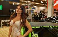 Le ragazze all'Essen Motor Show 2014