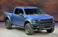 Ford F-150 Raptor al Salone di Detroit 2015