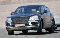 Bentley Bentayga , foto spia