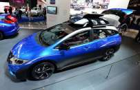Honda Civic Tourer Active Life Concept a Francoforte