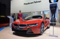 BMW i8 Protonic Red Edition al Salone di Ginevra 2016[FOTO]