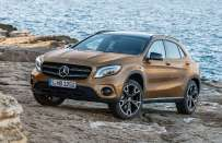 Mercedes GLA restyling 2017