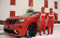 Jeep Grand Cherokee SRT8 in stile Ferrari, foto