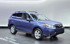 Subaru Forester 2013 al Salone di Los Angeles