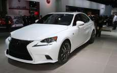Lexus IS 250 F-Sport al Salone di Detroit 2013