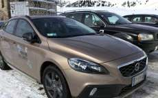 Volvo V40 Cross Country, foto della prova