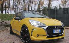 DS 3 Cabrio Performance, prova su strada