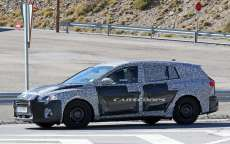 Ford Focus 2018 sw: foto spia