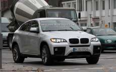 BMW X6 restyling, foto spia del crossover