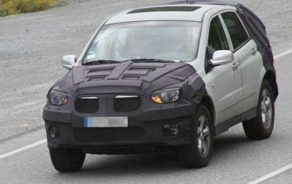 Ssangyong Actyon, foto spia