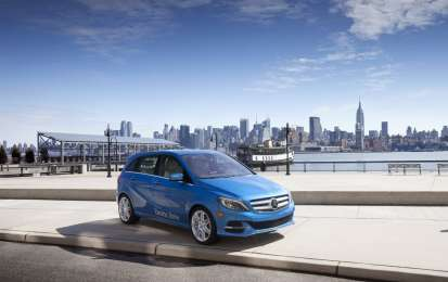Mercedes Classe B Electric Drive, foto ufficiali e dal Salone di New York