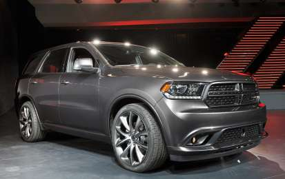 Dodge Durango restyling al Salone di New York 2013