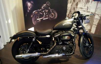 Harley-Davidson Sportster Iron 883 Special Edition S