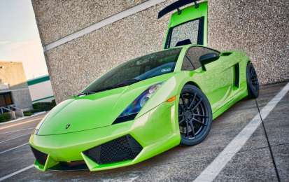 Lamborghini Gallardo Verde Ithaca by Dallas Performance, foto