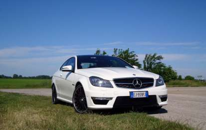 Mercedes C63 AMG Performance Coupé, prova su strada