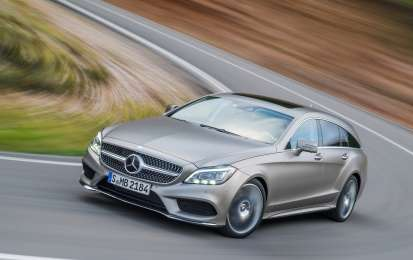 Mercedes CLS Shooting Brake 2014