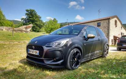 DS 3 Performance, prova su strada