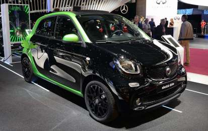 Smart ForFour Electric Drive Salone di Parigi 2016