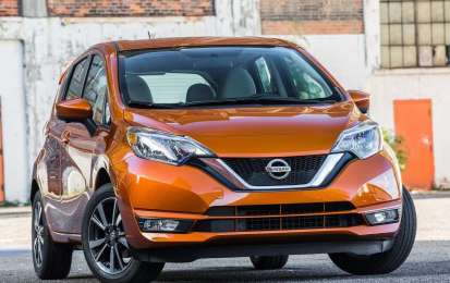 Nissan Note 2017 restyling